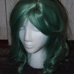 Accessories - Green silver synthetic wig
